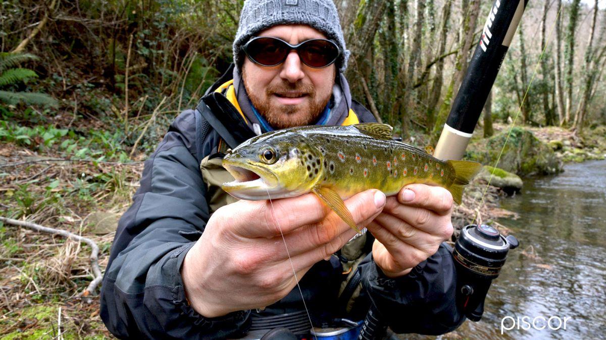 Attrezzatura Pesca Trota Torrente 3