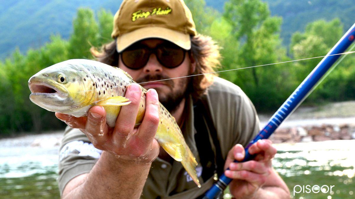 Pêche de la Truite au Flotteur en Eau Courante 2