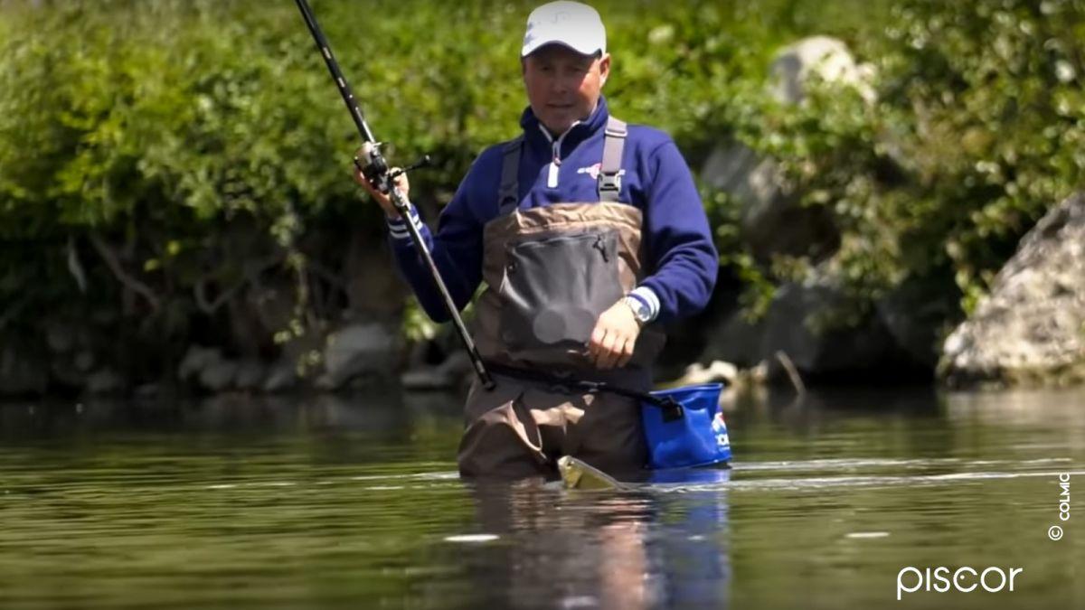Pesca ai Cavedani con la Bolognese in Fiume 3