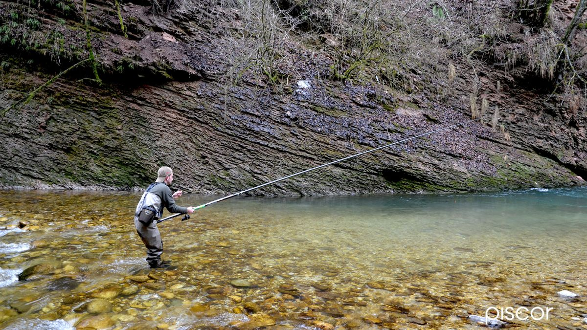 Pesca alla Trota a Rodolon in Torrente 3