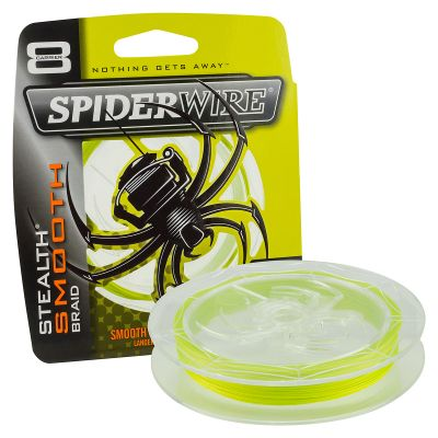 Spiderwire Stealth Smooth 8 Yellow 300 m - 1800 m - 3000 m