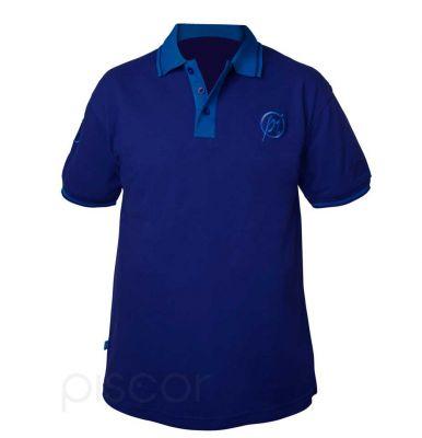 Preston Polo Two Tone Blue