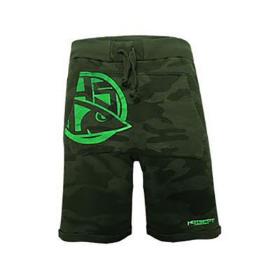Hotspot Design Pantaloncini Green Camo