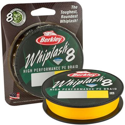 Berkley Whiplash 8 Yellow