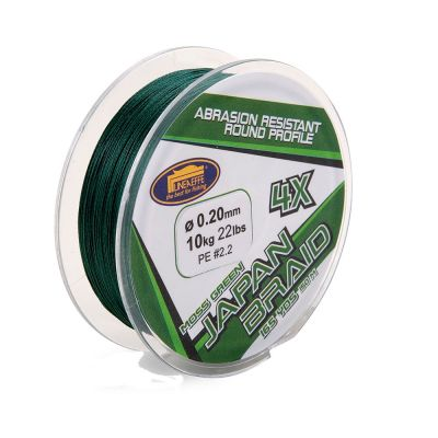 Lineaeffe Japan Braid Moss Green 4x
