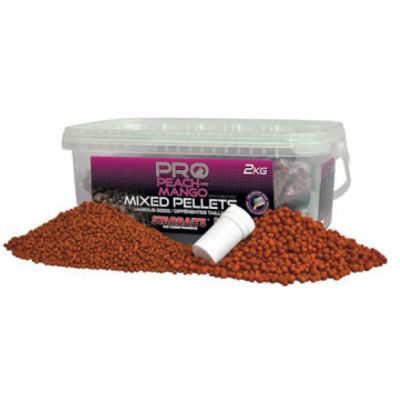 Starbaits Probio Pellets Mix Peach + Mango