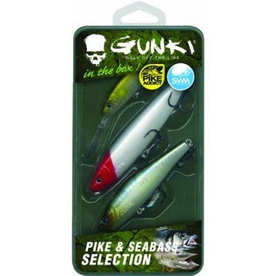 Gunki Box Pike And Sea Bass Selection