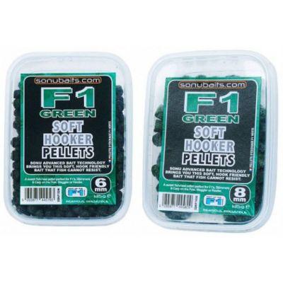 Sonubaits Soft Hooker Pellets F1 Green