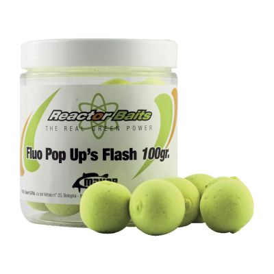 Reactor Baits Pop Up Flash Fluo Neutral Flavour