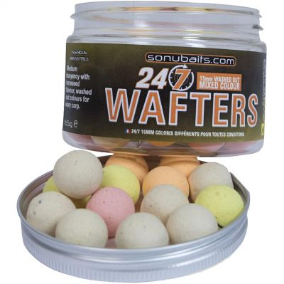 Sonubaits 24-7 Mixed Colour Wafters