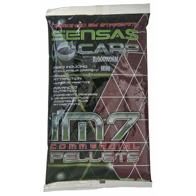 Sensas IM7 Pellets Extrudes Bloodworm