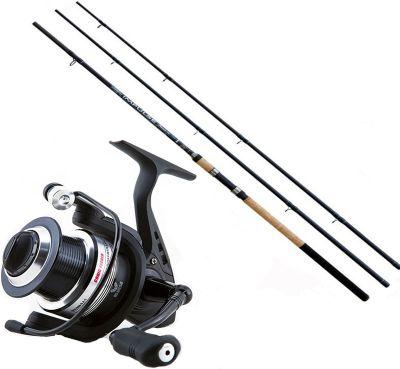 Lineaeffe Kit da Pesca Feeder Canna Ts impulse II 3.60 m 90 g + Mulinello Ts Feeder 4000