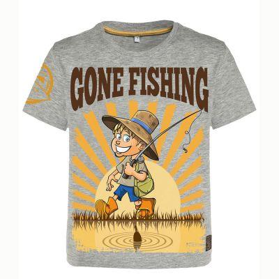 Hotspot Design T Shirt Children Gone Fishing