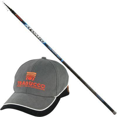 Trabucco Canna Bolognese Atomic XS Energy 7 m con Cappellino Trabucco in Omaggio
