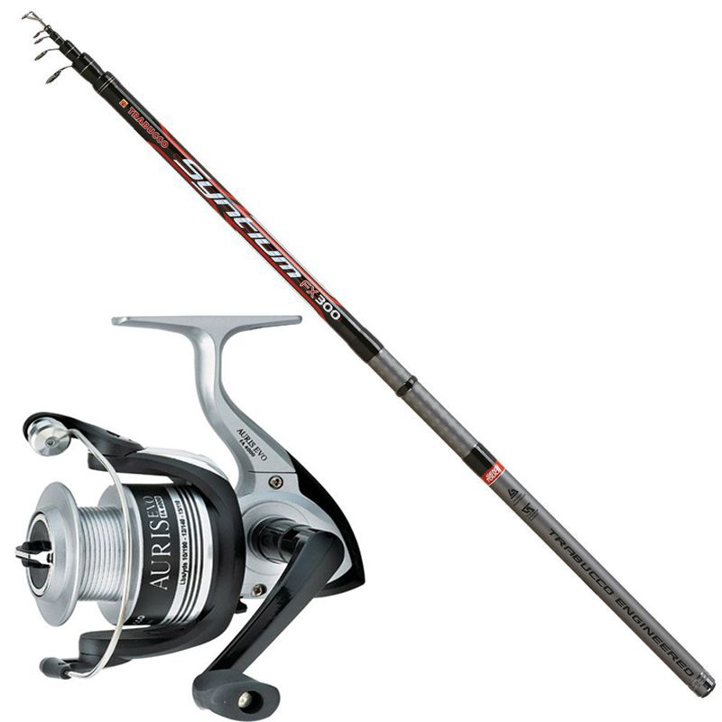 Compact Trout Fishing Rod TRABUCCO SYNTIUM FX 3.00m