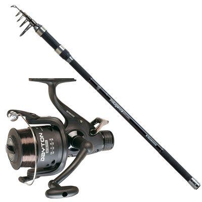 Trabucco Kit da Pesca Siluro Speciment Carpa Indulgence Specimen 3.60 m 3 lb  Mulinello Dayton 6000 Imbobinato con Ottimo Filo