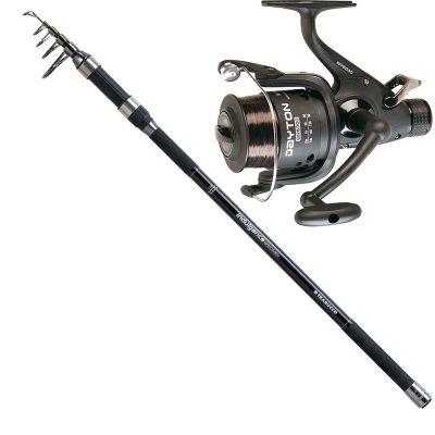 Trabucco  Kit da Pesca Siluro Speciment Carpa Indulgence Specimen 3.60 m 4 lb  Mulinello Dayton 6000 Imbobinato con Ottimo Filo