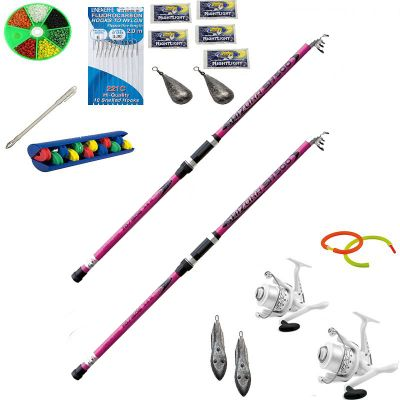 Lineaeffe Combo n 6 Top One per il Surfcasting in Super Offerta