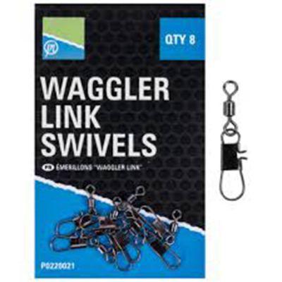 Preston Waggler Link Swivels