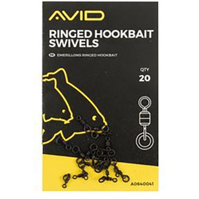 Avid Carp Ringed Hookbait Swivels