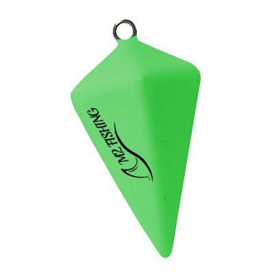 M2 Fishing Idropiramide Verde Fosforescente
