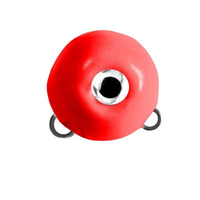 M2 Fishing Magic Ball con Doppio Gancio Rosso Fosforescente