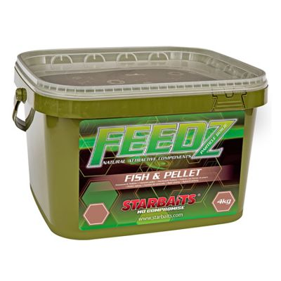 Starbaits Feedz Fish and Pellets