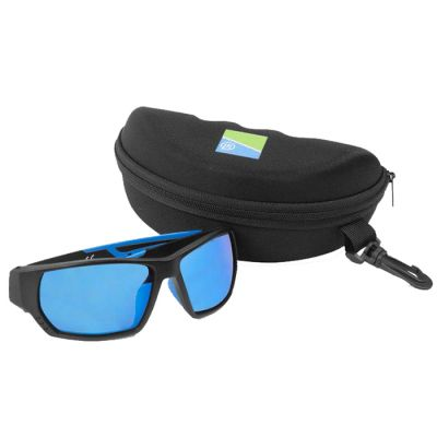 Preston Polarised Sunglasses Blue Lens Floater