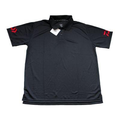 Daiwa Polo Manica Corta Black