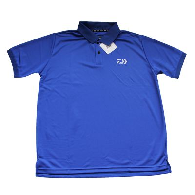 Daiwa Polo Manica Corta Blue