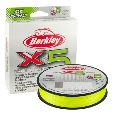 Berkley X5 Braid Flame Green