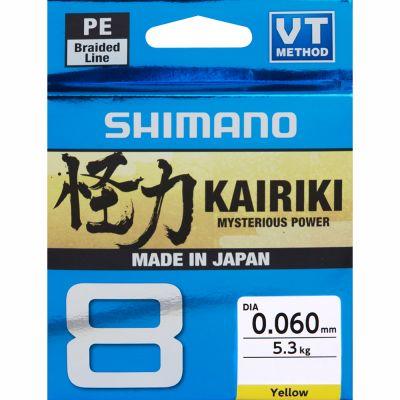 Shimano Kairiki 8 - Yellow 150 m