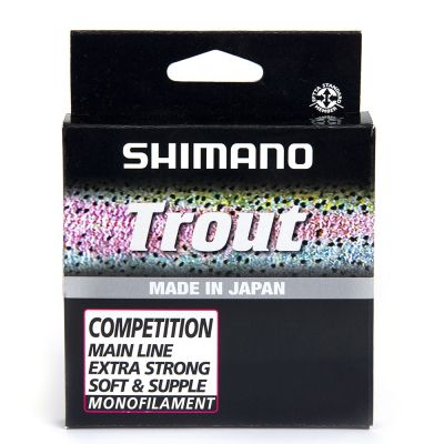 Shimano Trout Competition Mono Red 150 m