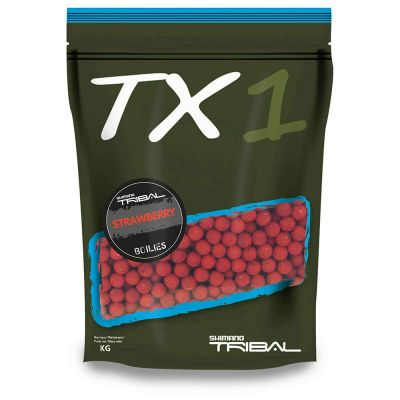 Shimano TX1 Boilies Strawberry 5 kg