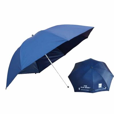 Preston 50´´ Flat Back Brolly With Zip