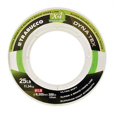 Trabucco Dyna Tex X4 Power - Lime Yellow