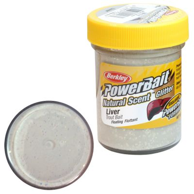 Berkley Pasta Trota PowerBait Natural Liver Scent White
