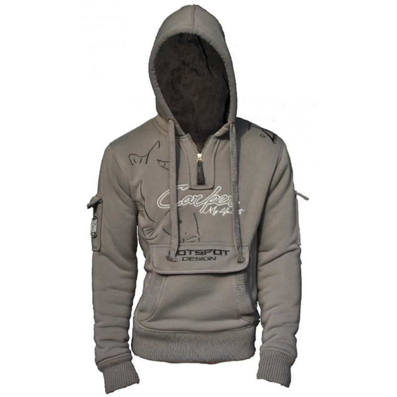 Zipp-Sweater Hoody Hotspot Design Sweat CARPER zipped Kapuzenpullover