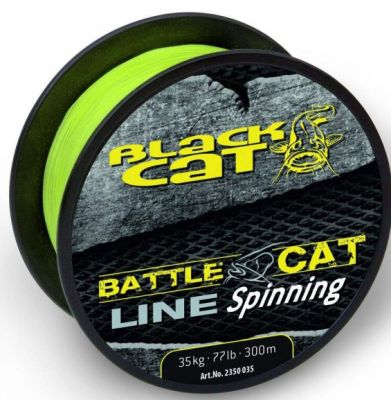 Black Cat Battle Cat Line Spinning