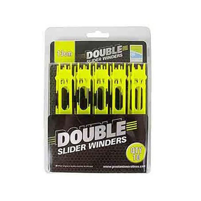 NEW Preston Double Slider Winders Green 20cm P0020016