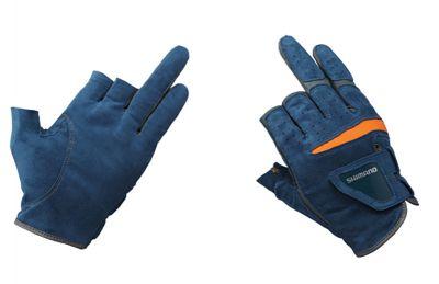 Shimano Guanto Natural Glove 3 Finger Cut