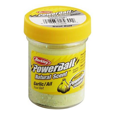 Berkley Pasta Trota PowerBait Natural Scent Garlic Glitter