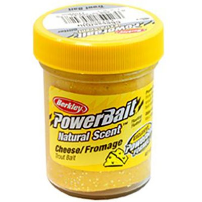 Berkley Pasta Trota PowerBait Natural Scent Cheese Glitter
