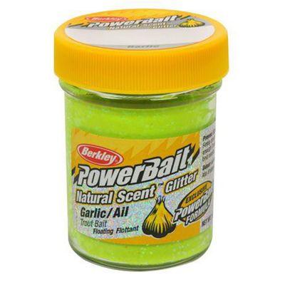 Berkley Pasta Trota PowerBait Natural Scent Garlic Chartreuse