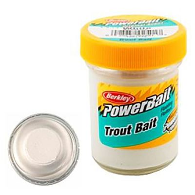 Berkley Pasta Trota Biodegradabile PowerBait White Marshmallow