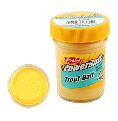 Berkley Pasta Trota Biodegradabile PowerBait Yellow