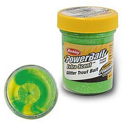 Berkley Pasta Trota Brillantinata PowerBait Fluo Green Yellow