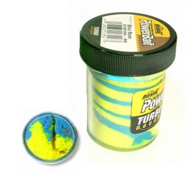 Berkley Pasta Trota Brillantinata PowerBait Turbo Dough Blue Neon