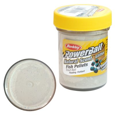 Berkley Pasta Trota PowerBait Natural Scent Fish Pellet White