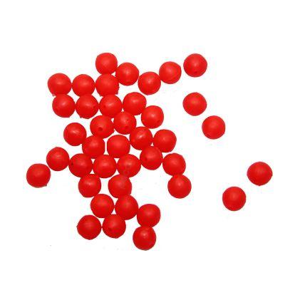 Contumax Perlina Tonda Rosso Fluo Rigida